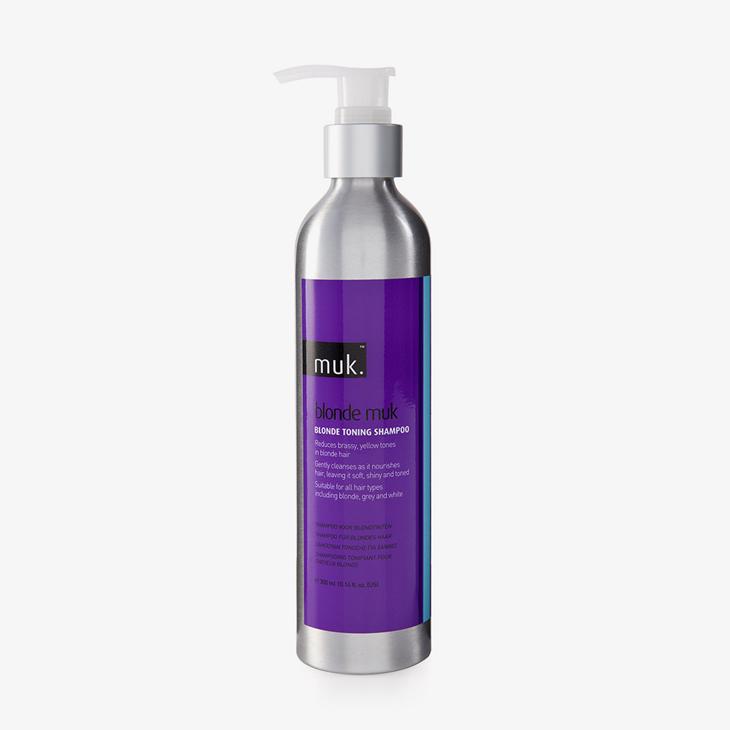 Blonde Muk Toning Shampoo