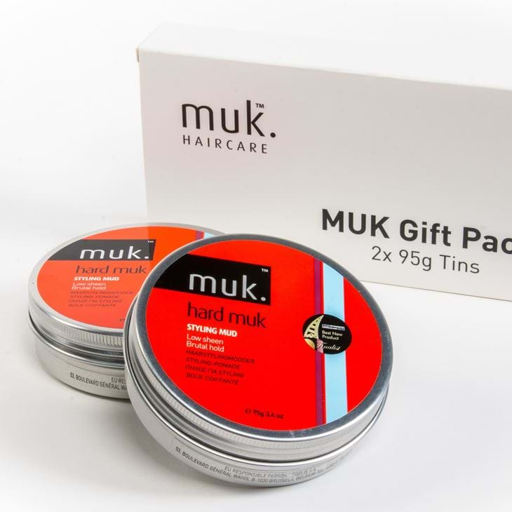 Hard Muk Twin Gift Pack 2x 95g Tins