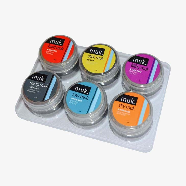 Muk Pastes & Clays Trial Pack